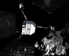 Kuyruklu yıldıza inen Philae'den son mesaj