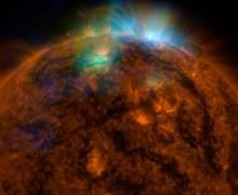 Güneş ilk defa böyle görüntülendi