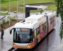 İzmir'de elektrikli otobüs devri başlıyor