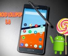 Samsung Galaxy Note 4 için Android 5.0 güncellemesi Türkiye'de