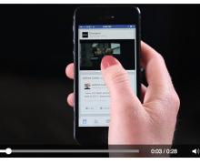 Facebook videolarında reklam dönemi
