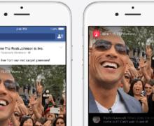 Facebook'a canlı yayın özelliği geliyor