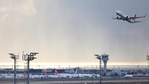 Türk hava sahası '30 dakika' boş kalmadı